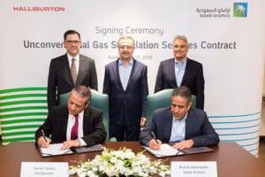 Saudi Aramco Awards Gas Services Contract to Halliburton
