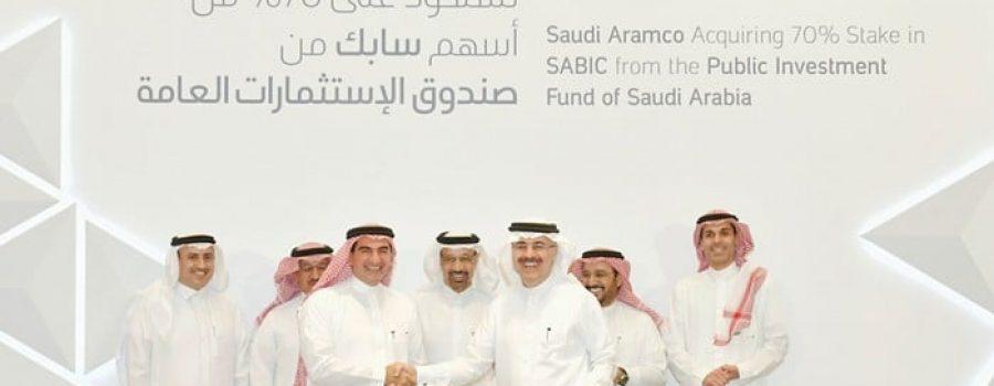 Saudi Aramco Acquires Majority Stake in SABIC in $69.1 Billion Deal