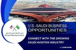 U.S. Contributes to Saudi Aviation a 2030 Priority