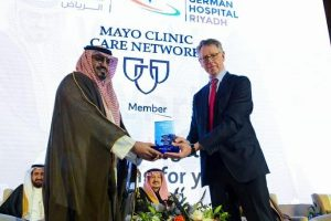 Saudi German Hospital Signs Agreement with U.S. Mayo Clinic