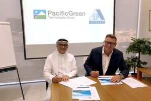 Pacific Green and Amkest Group to Create Joint Venture Company in Saudi Arabia